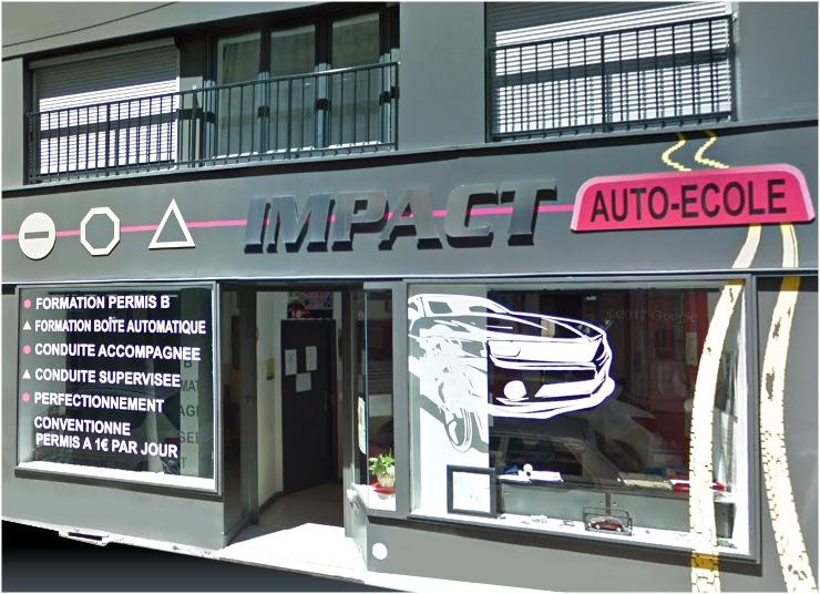 Impact Permis auto école à Saint Etienne, code en ligne, code de la route en ligne, permis de conduire, prepacode